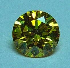GREEN DIAMOND - Fancy Intense Yellowish Green Diamond