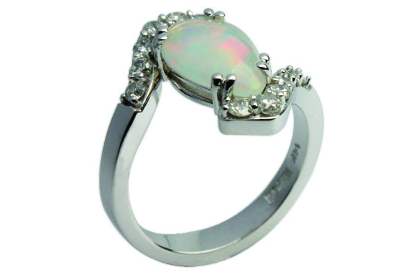 Opal Ring finished