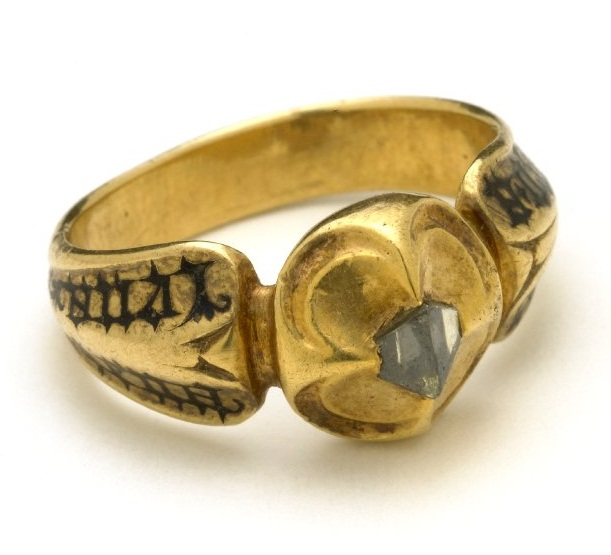 medieval diamond ring