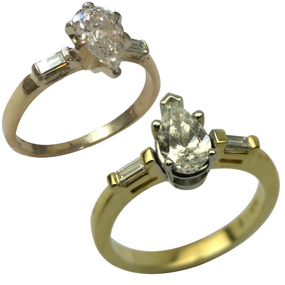 Complete Engagement Ring Rebuild