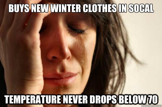 winter clothes meme